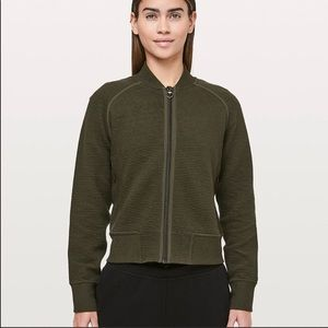 Lululemon On Repeat Bomber Jacket Sz 8